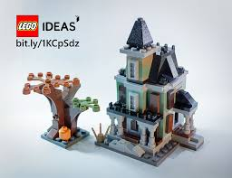 Halloween Monster House Ideas For A Halloween Town U0026 Mocs Page 7 Building Lego
