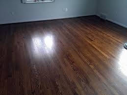 oak refinish city flooring