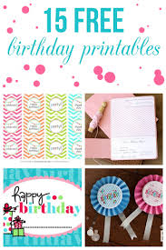 Happy Birthday Flags 15 Free Birthday Printables I Heart Nap Time