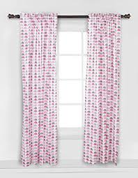 Pink And Grey Curtains Elephants Pink Grey Mini Elephants Curtain Panel Baby