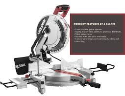 Skil 15 Amp 10 In Table Saw Skil 3821 01 12 Inch 15 Amp Corded Compound Miter Saw With Quick