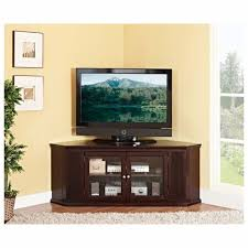tv stand glass door furniture brown wooden media cabinet with tv stand using storage