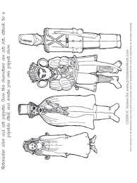 nutcracker print and color puppets printables for kids u2013 free