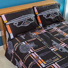 Adventure Time Bedding Star Trek Tng Uniform Bedding Set Thinkgeek