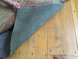 Hardwood Floor Rug Can Cheap Rug Pads Ruin Your Expensive Floors Rugpadusa