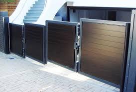 bi folding trackless speed gate leda security products