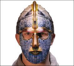 anglo saxon helmet mask amazon co uk toys u0026 games