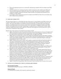 Research Objective Statement Appendix F Research Needs Statements Indefinite Delivery