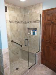 Bath Shower Conversion Tile Shower Shelves Bathroom Remodel Pinterest Tile Showers
