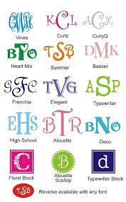 initial fonts for monogram monogram printables monograms fonts and cricut