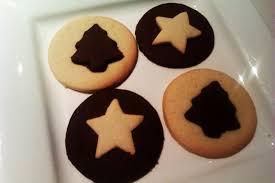 chocolate u0026 vanilla christmas cookies recipe chocablog