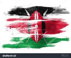 Kenya Flag Clothing Kenya Flag Painted On White Paper Stock Photo 120390820 Shutterstock