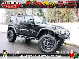 jeep sahara 2017 used cars for sale spokane wa 99208 arrotta u0027s automax u0026 rv u0027s