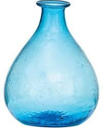 Blue Bottle Vase Decorative Colorful Glass Bottles U0026 Vases Luna Bazaar Luna Bazaar