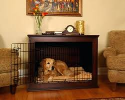 end table dog bed diy end table dog bed dog kennel end tables image of wood dog crate end
