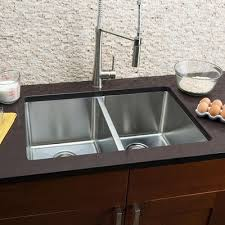 Undermount Kitchen Sinks Youll Love Wayfairca - Double bowl undermount kitchen sinks
