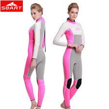 aliexpress com buy sbart neoprene 3mm wetsuit women diving suit
