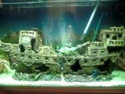 my tropical fish tank galleon ship
