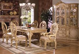 Antique Dining Room Sets White Wash Dining Table Groups Formal Wood Dining Room Set In
