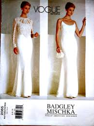 vogue wedding dress patterns wedding gown wedding dress lace top sewing by stitchingbynumbers