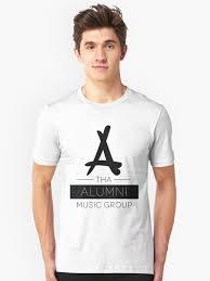kid ink alumni clothing tha alumni logo fixed unisex t shirt by daanrekers
