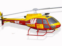 Wildfire Chords Marianas by Airbus Eurocopter As350 Westpac Surf Life Saving Helicopter Model