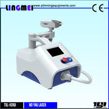 lingmei nd yag laser equipment q switched nd yag laser device