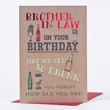 what to write in brother in law birthday card winclab info