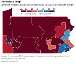 Up Map Here U0027s How Pennsylvania Democrats U0027 Congressional Map Proposal