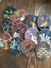 86 best punch needle images on rug hooking punch