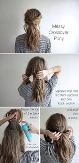 easy hairstyles for waitress s 20 ponytail hair tutorials for cold weather simple ponytails