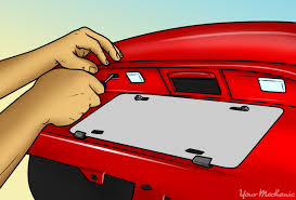 fix tail light cost how to replace a license plate bulb yourmechanic advice