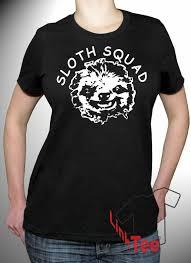 Sloth Meme Shirt - squad shirt best friends tumblr gang group team meme bff black