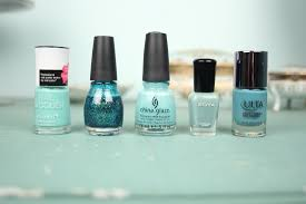 nails of the day teals u0026 mints it u0027s kate spicer