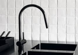 faucet for kitchen high low black kitchen faucet remodelista