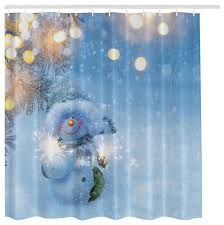 Snowman Shower Curtain Target Winter Shower Curtain Home Design Inspirations