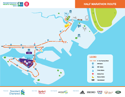 Marathon Route Map by Stanchart Marathon Route Largely Unchanged Maps Available For