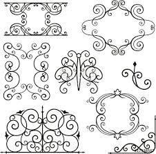 21 best decorative design images on wrought
