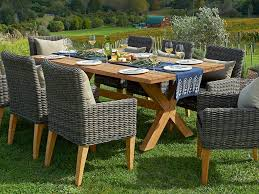 7 Pc Patio Dining Set - patio 63 8 person outdoor dining set patio dining sets