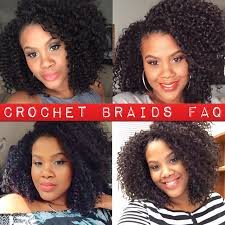 bohemian crochet hair crochet braids faq the fashionista