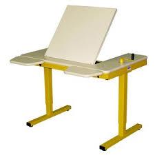bureau à hauteur variable bureau essentiel hv inclinable dupuy aménagement scolaire 6781