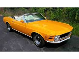 orange mustang convertible 1970 ford mustang for sale on classiccars com 116 available