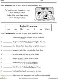 18 best images of personal pronoun worksheets for grade 1 2nd