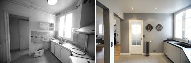 Relooking Cuisine Avant Apres Avant Après Transformation D U0027un Appartement De 65m2 Du 19e Siécle