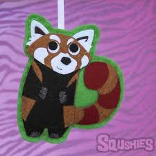 asia felt animal ornaments and sew on patches squshies
