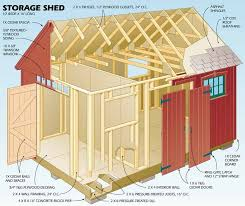 How To Build A Shed Design by Learn How To Build A Shed With These Plans Garden Workshops