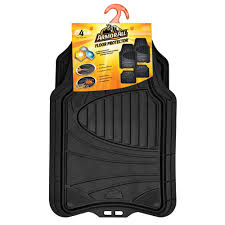 nissan rogue all weather mats armor all black heavy duty rubber 19 in x 29 in car mat 4 piece