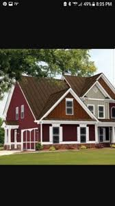 52 best red homes images on pinterest exterior house colors red