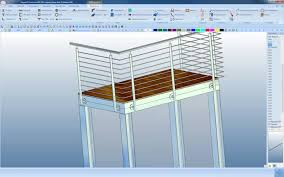 balkon stahlkonstruktion preis megacad metall 3d beispiel balkon konstruieren in wenigen