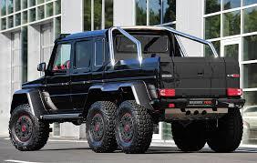 mercedes truck 6x6 brabus b63s 700 6x6 mercedes g63 amg g wagen six wheeler